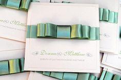 Belle handmade pocketfold wedding invitations and cards