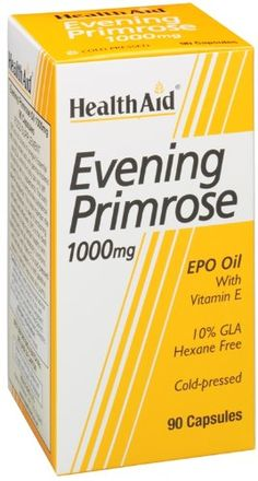 HealthAid Evening Primrose Oil 1000 mg - 90 Capsules - http://vitamins-minerals-supplements.co.uk/product/healthaid-evening-primrose-oil-1000-mg-90-capsules/