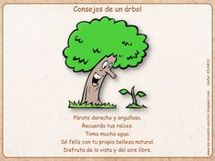 Me encanta escribir en español: Consejos de un árbol (el imperativo positivo)