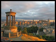 Edinburgh from Calton Hill. My favourite city on the planet.