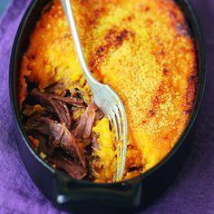 Recette parmentier de canard aux patates douces - Cuisine et Vins de France