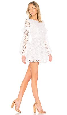 3a60f9e2689 Shop for Sundress Margherita Dress in White   Multi at REVOLVE. Free day  shipping and returns