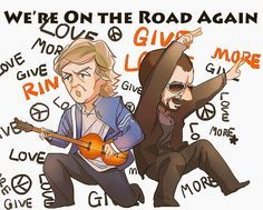 Paul and Ringo Beatles Funny, Beatles Art, The Beatles, Still In Love, All You Need Is Love, Love Of My Life, Paul Mccartney, El Rock And Roll, I Am The Walrus