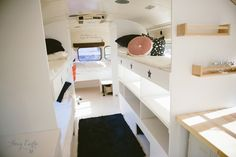 Love the bunks and general design of this bus but i need a kitchen and bath