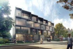 5468796 Architects - tree house townhomes - Toronto, Canada