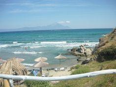 Fotó itt: Sarti beach - Google Fotók Outdoor Furniture, Outdoor Decor, Greece, Beach, Google, Home, Greece Country, The Beach, Ad Home