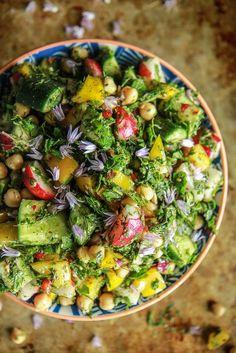 Chopped Salad Persian Chopped Vegetable Salad from Persian Chopped Vegetable Salad from Whole Food Recipes, Dinner Recipes, Cooking Recipes, Dessert Recipes, Cooking Tips, Cake Recipes, Vegetarian Recipes, Healthy Recipes, Gula