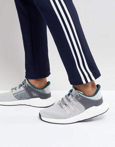 c006a5053c97 adidas Originals EQT Support 93 17 Sneakers In Gray CQ2395