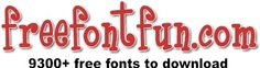 Here's an unchecked link - I couldn't miss pinning it as I love collecting fonts! ;) Mo