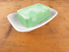 An Ironstone Soap Dish - Large With Curved Edges - Made in Japan - Heavy and Durable - Ridged - Vintage Bathroom Accessory - Farmhouse Chic by VintagePottery on Etsy