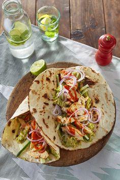 Spicy kiptortilla's met guacamole – Solis