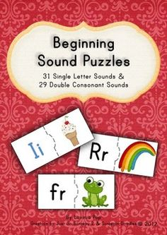 This would make a cute addition to your literacy centre or word work station. All it takes is some cutting and laminating and voila! :)Please refer to the images on the right for a sample of what is included in this pack.Happy Teaching :)