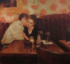 Romantic Figurative Oil Paintings by Joseph Lorusso available at Saks Galleries