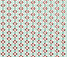 seafoam and red buttons fabric by holli_zollinger on Spoonflower - custom fabric