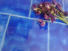 Gorgeous Ultramarine glaze tiles only found in our unique Persian glazes.