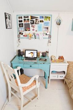 How to make the most of what little space you have if your room is, like mine, basically a closet. I blame the size of my bedroom for my height.