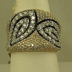 Ladies Diamond Fashion Ring FC
