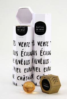 PACKAGING | UQAM: Bulles de miel | Marie Audier | ECV