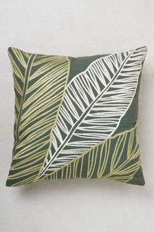 Green Cushions Throws Beanbags