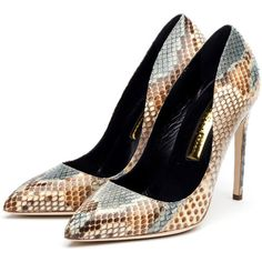 Rupert Sanderson High Heel Pumps ($1,095) ❤ liked on Polyvore