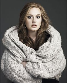 My students keep telling me I look like Adele to them. What a sweet compliment. <3 Adele!