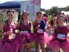 The divas at the Boston @SHAPE magazine @SHAPE Diva Dash sparkled in their unique costumes as they sipped on Karma Wellness Water!