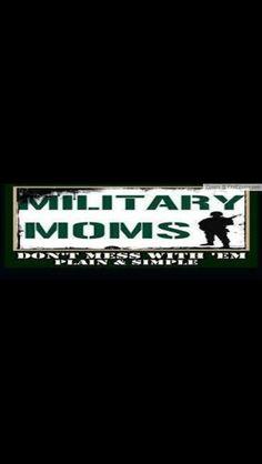 Proud Army mom..