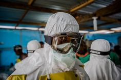 Humanitarian aid groups are providing medical personnel, equipment, training and food in areas where Ebola has raced ahead of international pledges of assistance.