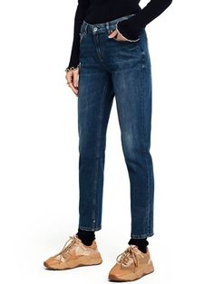 Scotch /& Soda The Keeper-Better In Black Vaqueros Straight para Mujer