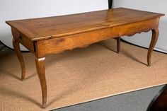 Provencal Fruitwood Table, circa 1900, France   From a unique collection of antique and modern farm tables at https://www.1stdibs.com/furniture/tables/farm-tables/