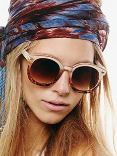 Abbey Road Sunglasses - Free People - it's the leopard version of my favorite shades!