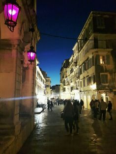 Corfu town!!