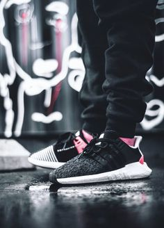 Adidas EQT Support 93/17 - Turbo Red/Black - 2017 (by Emil Noniyev)