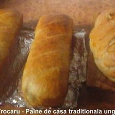 Paine de casa traditionala ungureasca | Savori Urbane Cabana, Bread, Food, Bread Baking, Meal, Brot, Eten, Cabanas, Breads