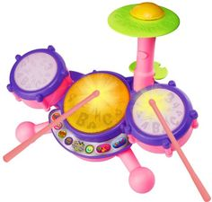 VTech KidiBeats Drum Set - Pink - Online Exclusive -- Check out this great image @