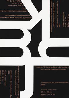 Mavignier, Almir poster: M, K, H, J - (Justus Brinckmann Gesellschaft)