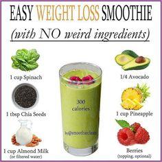 Smoothie Diet Plans, Smoothie Challenge, Weight Loss Smoothie Recipes, Easy Smoothie Recipes, Easy Smoothies, Juice Smoothie, Smoothie Detox, Carrot Smoothie, Orange Smoothie