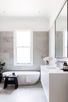 A collection of gorgeous master bathroom home design and home decor pins. I am hoping this board inspires one to create your dream master bathroom. Bathroom Renos, Bathroom Renovations, Bathroom Interior, Modern Bathroom, Small Bathroom, Master Bathrooms, Bathroom Mirrors, Remodel Bathroom, Minimal Bathroom