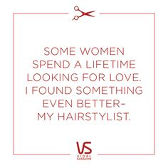 Is finding a great hairstylist harder than finding love? Some would say yes.