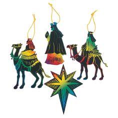 Magic Color Scratch 3 Wise Men - OrientalTrading.com