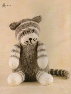 knitted farm animals patterns - Google Search
