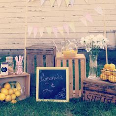 Lemonade stand - picture only