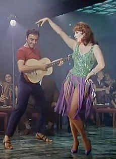 Sophia Loren in It Started in Naples, where she sang Tu Vuò Fà L'Americano