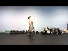Kettlebell Moves: Overhead Lunge