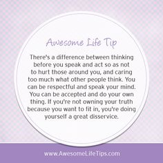 Own Your Truth - Awesome Life Tips by Stephenie Zamora ›› www.awesomelifetips.com