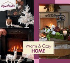 💖 Δημιούργησε την δική σου αγαπημένη ζεστή γωνία με cozy έπιπλα και διακοσμητικά #AgiovlasitisHome Cozy House, Warm And Cozy, Objects, Home Decor, Decoration Home, Cosy House, Room Decor, Home Interior Design, Home Decoration