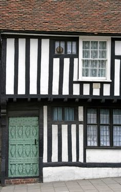 Tudor House in Colchester, Essex. UK