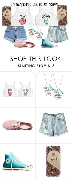"""""""Untitled #113"""" by darlinglittlebird on Polyvore featuring Levi's, Alisa Michelle, Vans, Chicnova Fashion, Converse and Casetify"""