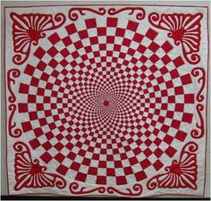 Quilt Inspiration: Free pattern day! Red and white quilts (part 1) - for Mel?