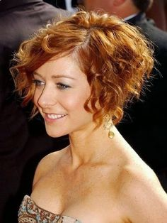Super Short Curly Hairstyles 2014